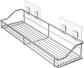 Oriware Estanteria Ducha Adhesivos Organizador Estantes Cesta para Ducha Baño SUS304 Acero Inoxidable -Sin Taladro