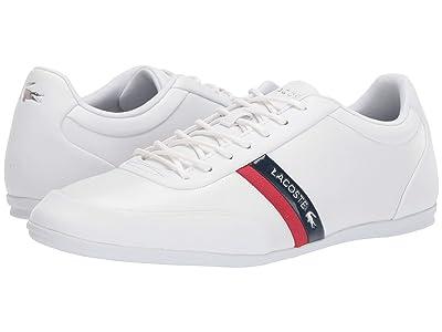 Lacoste Storda Sport 319 1 U (White/Navy) Men