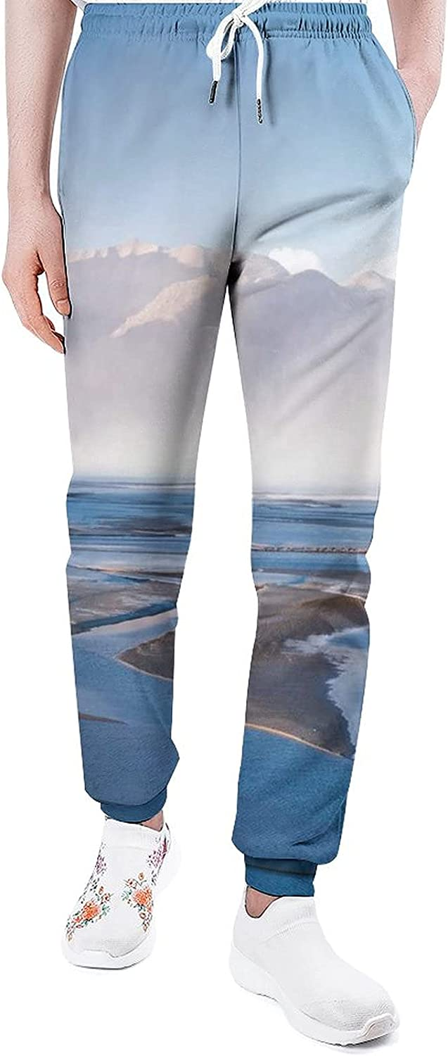 Green Leaves Max 59% OFF Sweatpants Man Joggers Pants Lounge Athletic Direct store Unique