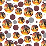 GRAPHICS & MORE Flying Dragon Fire Breathing Fantasy Premium Gift Wrap Wrapping Paper Roll