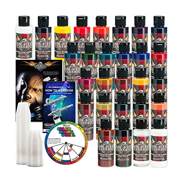 26-CREATEX-Wicked-Colors-2oz-Detail-Colors-Airbrush-Paint-Set
