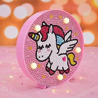 DIY Handmade Toy Lamp Nursery Night Lights for Kids Bedroom Diamond for Kids Lamp Girls Marquee Signs