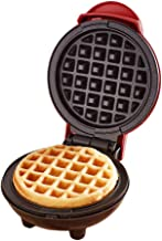 Mini Waffle Maker Classic Nonstick Breakfast Panini Making Machine Individual Round Portable Kitchen Cooking Appliances