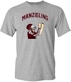 Manzieling Cleveland Fan Wear Adult DT T-Shirt Tee