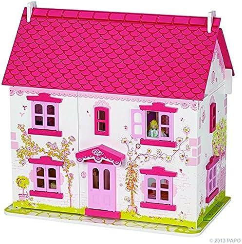 Papo Flower Cottage - inkl. Puppen und M l -