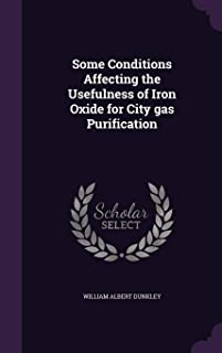 Some Conditions Affecting the Usefulness of Iron Oxide for City Gas Purification