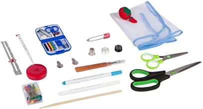 Anyone Can Sew Professional Sewing Kit for Beginners with Travel Mending Kit and Full Sized Shears for Sewing Machines unknown