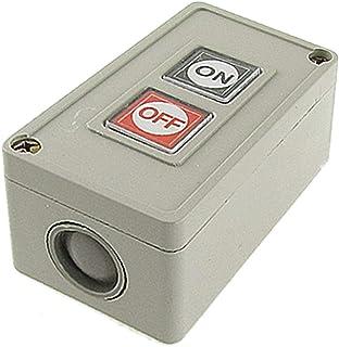 X-DREE Motor Control On/Off Momentary Pushbutton Switch 220V AC For UAE 3A(Interruttore a pulsante momentaneo di controllo...