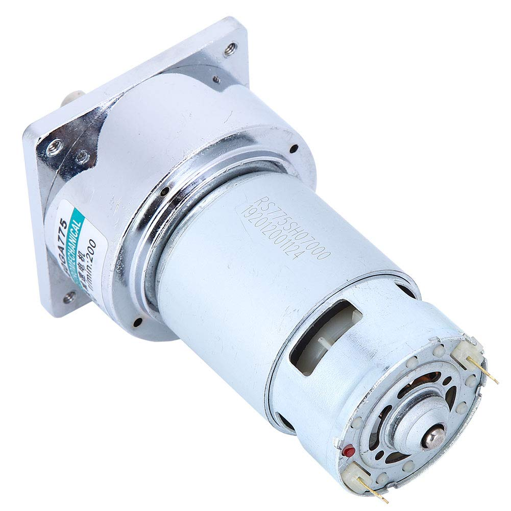 Micro DC Gear Motor 60GA775 DC12V Lowest price challenge Torque Large Adjustable National products Sp 35W
