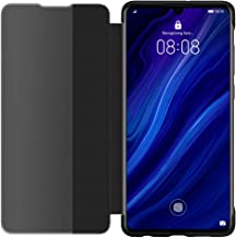 Huawei Genuine P30 Smart View Flip Cover Wallet with Sleep Wake Feature - Black (51992860)