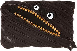 ZIPIT Grillz Big Pencil Case, Black, Frog, ZTMJ-GR-MB, Zipit Pouch and pencil case