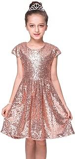 Best girls gold sequin dress Reviews