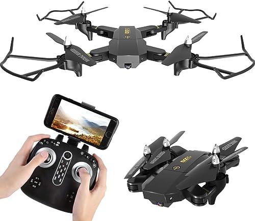 entrega rápida TYUE TYUE TYUE Drone con cámara para Adultos, 1080P RC Quadcopter Aviones WiFi vídeo en Vivo Plegable Cuerpo Ajustable cámara Gesto de la Foto, Video One Button Parada de Emergencia, Retorno  a precios asequibles