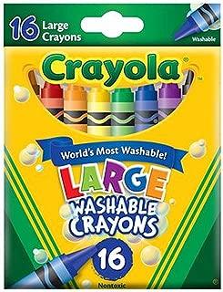 Crayola Jumbo Washable Crayons 16 ea ( Pack of 2)