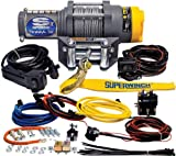 Superwinch 1135220 Terra 35 3500lbs/1591kg single line pull with roller fairlead, handlebar mnt toggle,...