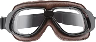 Motorcycle Goggles Vintage Anti Fog Pilot Glasses Dustproof ATV Off Road