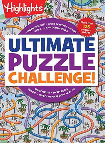 Compare Textbook Prices for Ultimate Puzzle Challenge! Highlights Jumbo Books & Pads Illustrated Edition ISBN 9781684372614 by Highlights
