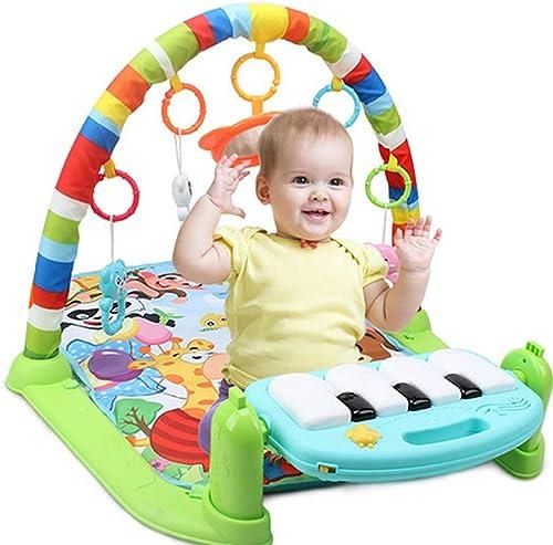 hasta un 65% de descuento L@ily Baby Gym Play Mat, 3 3 3 en 1 Kick and Play Piano Fitness Alfombra de Juego con Centro de Actividades, música y Sonidos, educación temprana para bebés y Niños pequeños recién Nacidos 0-36 Meses  barato y de alta calidad