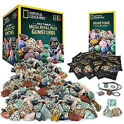 powerful National Geographic Rock Tumbler Mega Refill – 9 £ 3 Jewels.
