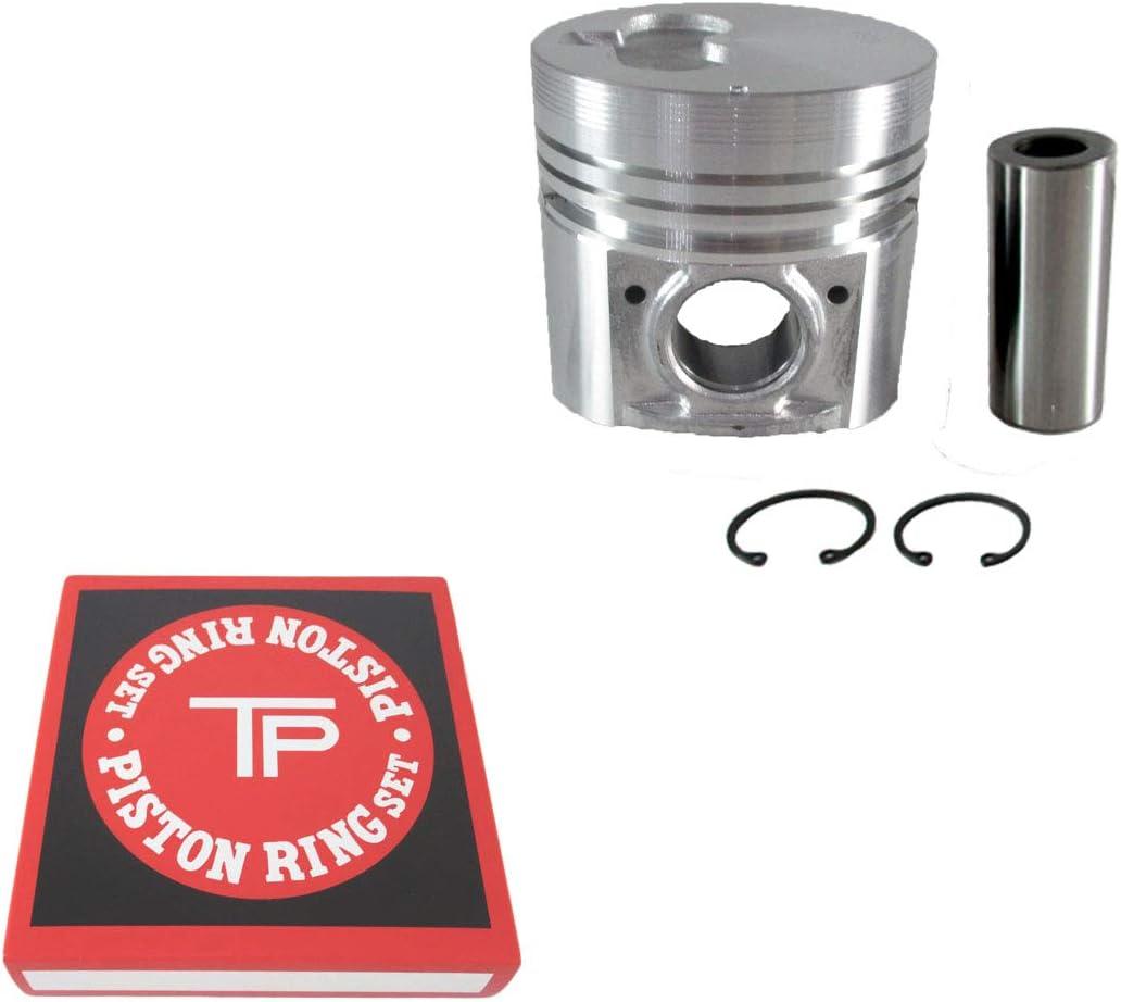 Factorytaiwan Piston + Ring Kit Set 100% 3KR1 Taiwan STD El Paso Mall Max 70% OFF Isuzu