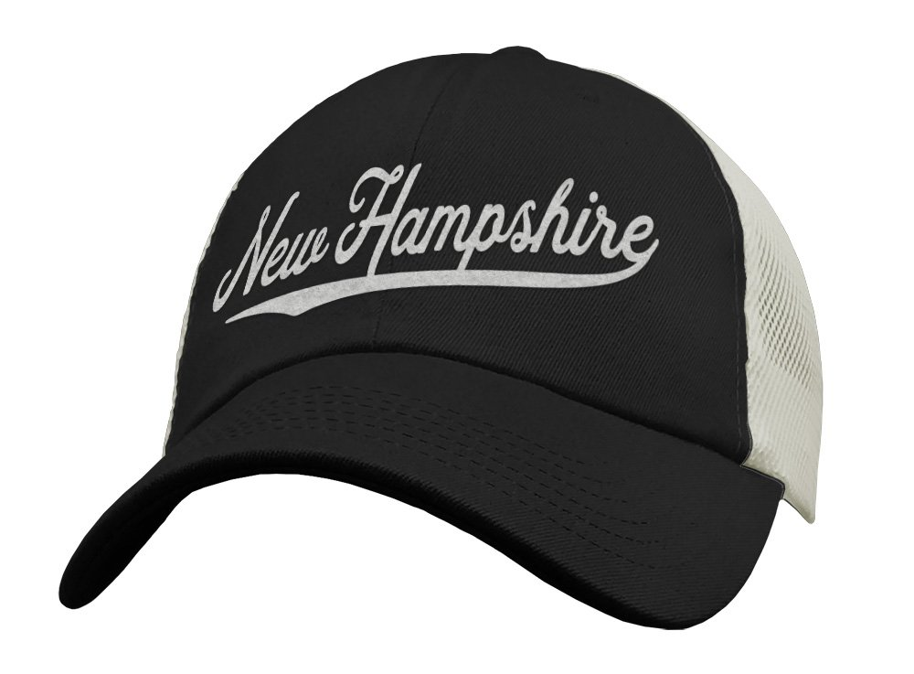 State of New Hampshire Trucker Hat Baseball Mesh Dealing full price reduction Cap Snapback Selling -