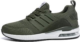 Youpin New Man Sneakers per Uomo Gomma Nero Scarpe Da Corsa Verde Esercito Traspirante Fabri Sport Scarpe Maschio Femminil...