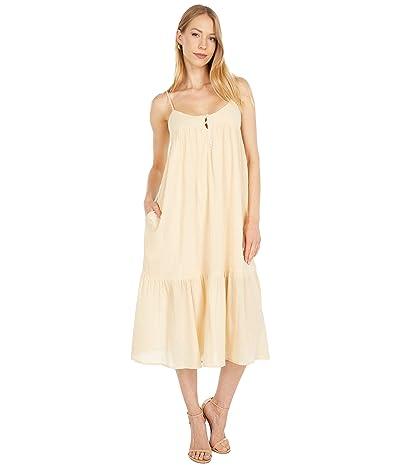 LOST + WANDER Sweet Lemon Pie Midi Dress