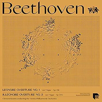 Beethoven: Leonore Overture No. 1, Op. 138 & No. 2, Op. 72A
