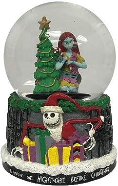 Nightmare Before Christmas Disney Sally Musical Waterglobe Snowglobe