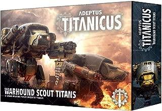 Games Workshop Warhammer Adeptus Titanicus: Warhound Scout Titans