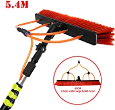 JSZMQD 3.6-11M Telescopic Cleaning Rod, Photovoltaic Panel Cleaning Tool, Washing Set Equipment Extension Pole Cleaning Ki...