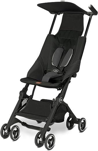 Pockit Lightweight Stroller, Monument Black