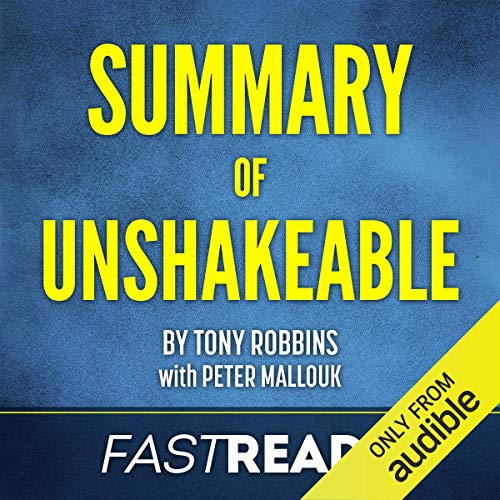 Page de couverture de Summary of Unshakeable by Tony Robbins