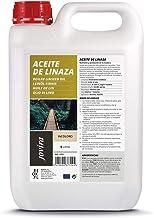 Lijnzaadolie natuur (100% zuiver) voedingsstof, bescherming en verzorging van het hout. (5 liter)