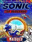Sonic The Hedgehog 2020 Malbuch: Sonic 2020 Malbuch Mit Exklusiven