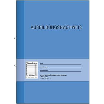 RNK Verlag Ausbildungsnachweis Block täglich DIN A4 28 Blatt 1 Woche auf 1 Seite