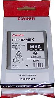 CANON PFI-102MBK (0894B001AA) Ink Cartridge (Matte black 1 PACK) IN RETAIL PACKAGING