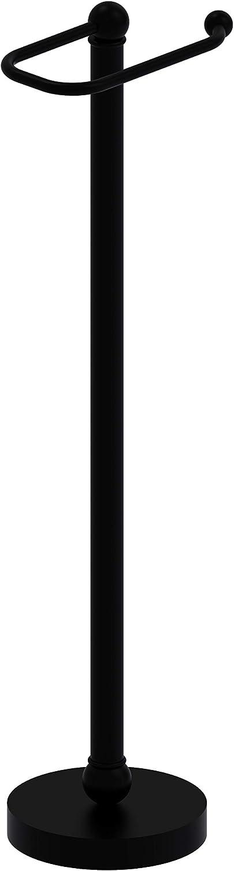 Allied Brass GL-39-BKM Free Holder Bl 5 Popular overseas ☆ very popular Stand Matte Tissue Toilet