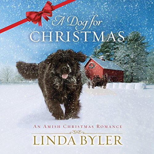 A Dog for Christmas audiobook cover art