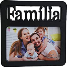 Porta Retrato Familia 10x15 Square Center PF-1250-PO
