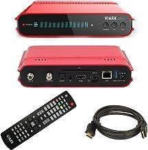 VIARK DROI Receptor TV satélite 4K DVB/S2 y T2 H265,