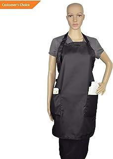 Kaputar Apron Commercial Restaurant Home Bib Spun Poly Cotton Kitchen Aprons (2 Pockets) | Model-102