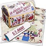 Caccia al tesoro natalizia in scatola per casa 5-7 anni - Giochi natalizi per bambini - Caccia al regalo di Babbo Natale - Caccia al tuo regalo di Natale - Giochi di natale per bambini