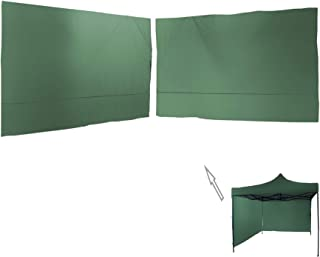 Amazon.es: 2 cortinas para gazebo 3X3 VERDE