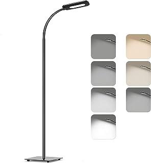 comprar comparacion Lámpara de pie,luz de piso LED,lámpara de pie TECKIN de lectura Regulable para el dormitorio de la sala de estar,vida útil...
