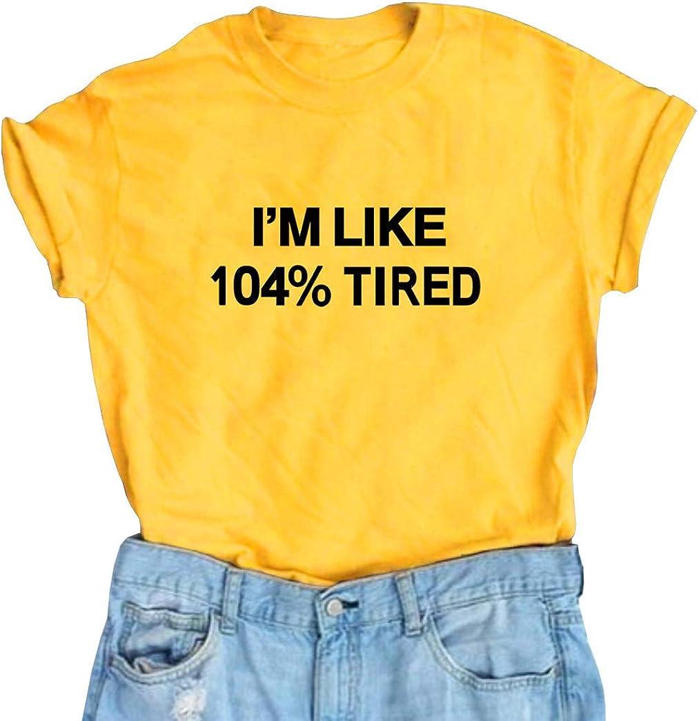 SELECTEES Women Funny Tea Shirt Graphic V-neck T shirt Teen Girls Tops