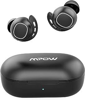 Mpow M30 ワイヤレス イヤホン bluetooth5.0 スポーツイヤフォン 25時間音楽再生 IPX7防水 AAC Siri対応 MCSync Type-C充電 片耳対応 左右分離型 マイク搭載 タッチコントロール ベースサウンド 完...