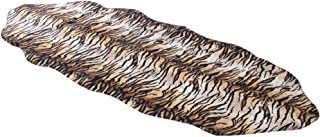 Furug Animal Print Rugs Faux Fur Shag Plush Carpet Soft Sofa Mat Chair Couch Cover Seat Modern Area Rugs for Living Room Bedroom Office Floor Kids Room,5.91ftx2.46ft Tiger Print B