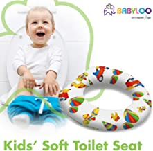 Babyloo Soft Cushion Toilet Seat for Children and Toddlers - Comfortable Potty Training Seat to use on Top of Existing Toilet Seat
