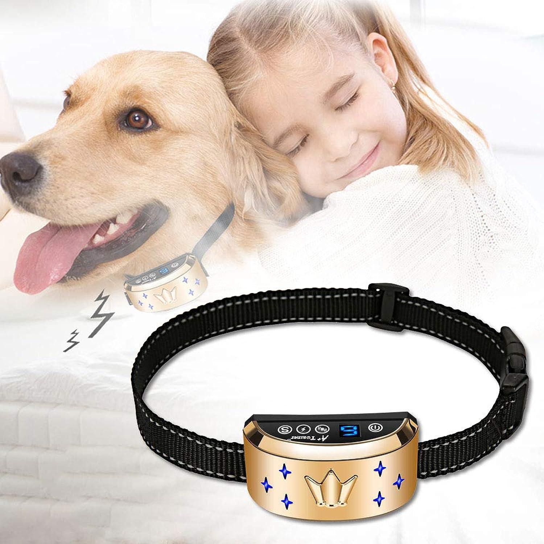 Dog Bark Collar, Waterproof Dog Training Collar, 3 Stop Anti Barking Modes [Beep, Vibration, and Shock], Anti Bark Collar Rechargeable for Small Medium Large Dogs